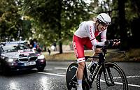 Anna Plichta (POL/Trek-Segafredo)<br /> Elite Women Individual Time Trial<br /> <br /> 2019 Road World Championships Yorkshire (GBR)<br /> <br /> ©kramon