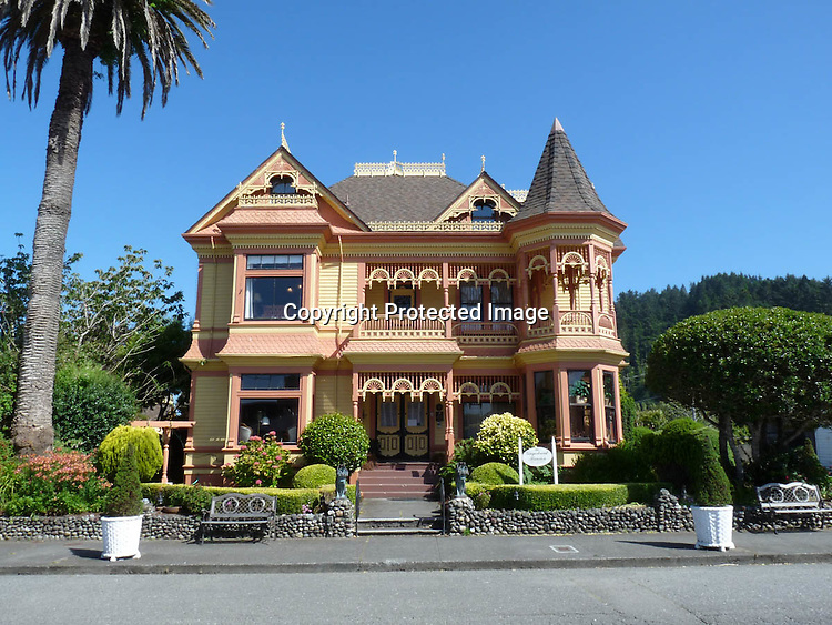 Victorian Houses Ferndale Humboldt County California