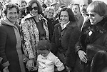 Peace Movement. Peace People. Peace March. Betty Williams and Maird Maguire ( nee Corrigan) meets well wishers Hyde Park London rally then march to Traflagar Square. 1976...MY ref 17a/ 1481/, 1976,