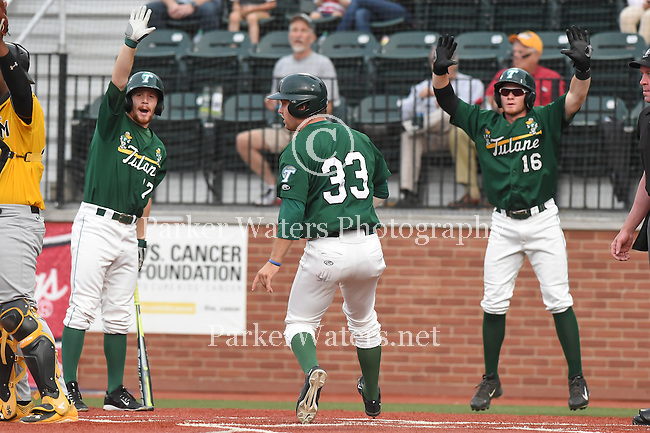 Tulane tops Southern Miss, 12-0, in baseball action.