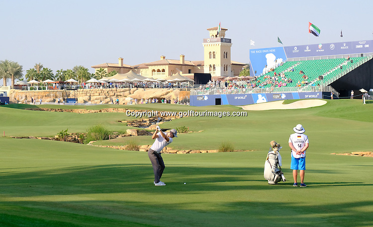 Martin Kaymer (GER) during round one of the 2016 DP World Tour Championships played over the Earth Course at Jumeirah Golf Estates, Dubai, UAE: Picture Stuart Adams, www.golftourimages.com: 11/17/16