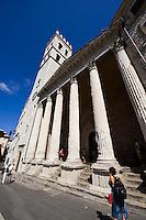 Italien, Umbrien, Minerva-Tempel in Assisi