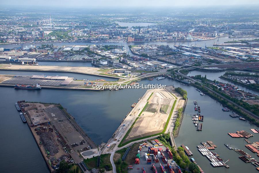 Hansaterminal: EUROPA, DEUTSCHLAND, HAMBURG 23.05.2021 Hansaterminal im Hamburger Hafen beim Umbau