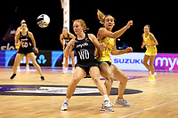 Samantha Winders of Silver Ferns during the Constellation Cup international netball series match between New Zealand Silver Ferns and Australian Diamonds at Christchurch Arena in Christchurch, New Zealand on Tuesday, 2 March 2021. Photo: Martin Hunter / lintottphoto.co.nz