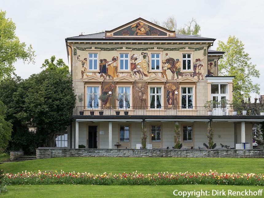 Villa Prym an Uferpromenade, Konstanz, Baden-Württemberg, Deutschland, Europa<br /> Villa Prym at lakeside promenade, Constance, Baden-Württemberg, Germany, Europe