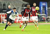 Milano  23-01-2021<br /> Stadio Giuseppe Meazza<br /> Campionato Serie A Tim 2020/21<br /> Milan - Atalanta<br /> nella foto:   Kalulu                                                       <br /> Antonio Saia Kines Milano