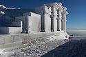 29/12/14 - SOMMET DU PUY DE DOME - PUY DE DOME - FRANCE - Le Temple de Mercure - Photo Jerome CHABANNE