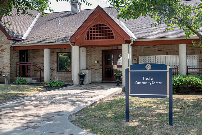 August 26, 2020; Fischer graduate residences Community Center (Photo by Matt Cashore/University of Notre Dame)