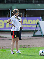 Hungary - Hongarije : UEFA Women's Euro Qualifying group stage (Group 3) - 20/06/2012 - 17:00 - szombathely  - : Hungary ( Hongarije ) - BELGIUM ( Belgie) :.Elke Van Den Steen.foto DAVID CATRY / JOKE VUYLSTEKE / Vrouwenteam.be.
