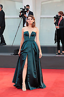 "VENICE, ITALY - SEPTEMBER 07: Maja Ostaszewska walks the red carpet ahead of the movie ""Sniegu Juz Nigdy Nie Bedzie"" (Never Gonna Snow Again) at the 77th Venice Film Festival on September 07, 2020 in Venice, Italy. <br /> CAP/MPI/AF<br /> ©AF/MPI/Capital Pictures"