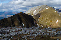 Sgurr a Mhaim and the Devil's Ridge, part of the Ring of Steall above Glen Nevis, Lochaber<br /> <br /> Copyright www.scottishhorizons.co.uk/Keith Fergus 2011 All Rights Reserved