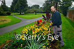 Tralee Town Park Gardener Andrew Griffin in the new Bio Diversity garden on Tuesday.