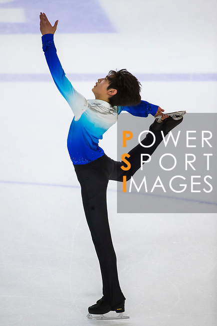 Sung Hoon Park of Korea competes in Junior Men group during the Asian Open Figure Skating Trophy 2017 at Mega Ice on 03 August, 2017 in Hong Kong, China. Photo by Yu Chun Christopher Wong / Power Sport Images