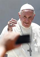 20150603 VATICANO: UDIENZA GENERALE DI PAPA FRANCESCO