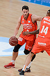 Valencia Basket's Sam Van Rosso during Semi Finals match of 2017 King's Cup at Fernando Buesa Arena in Vitoria, Spain. February 18, 2017. (ALTERPHOTOS/BorjaB.Hojas)