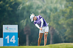 Players in action during the Day 2 of the Fubon LPGA Taiwan Championship on 31st October 2014 at the Miramar Golf Country Club outskirts of Taipei, Taiwan. Photo by Victor Fraile / Power Sport Images