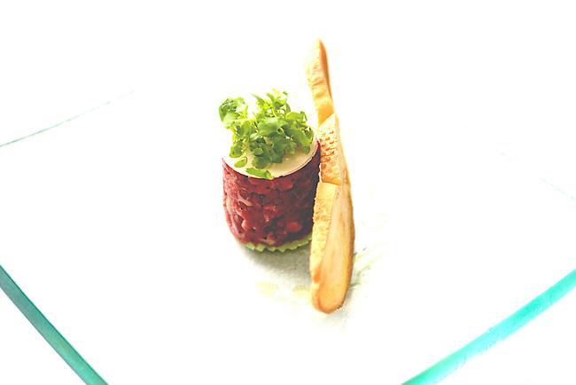 Raw Beef, Spiaggia Restaurant, Chicago, Illinois