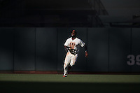 SAN FRANCISCO, CA - JULY 10:  Denard Span #2 of the San Francisco Giants chases a fly ball in center field against the Arizona Diamondbacks during the game at AT&T Park on Sunday, July 10, 2016 in San Francisco, California. Photo by Brad Mangin