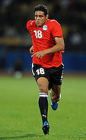 Ahmed Abdelghani of Egypt. USA defeated Egypt 3-0 during the FIFA Confederations Cup at Royal Bafokeng Stadium in Rustenberg, South Africa on June 21, 2009.