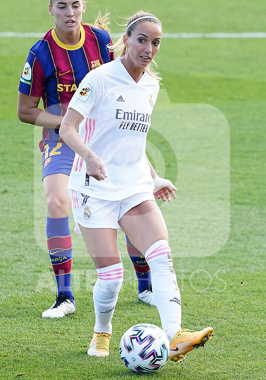 First official match and first classic in the history of women's Real Madrid.<br /> Real Madrid's Kosovare Asllani during Spanish Female League match. October 4,2020. (ALTERPHOTOS/Acero)