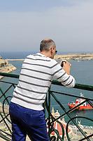 Upper Barracca Garden in Valletta, Malta, Europa