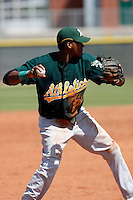 Wilfrido Sosa - Oakland Athletics - 2009 spring training.Photo by:  Bill Mitchell/Four Seam Images
