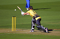 Wellington's Sophie Devine bats during the Hallyburton Johnstone Shield women's cricket match between Wellington Blaze and Otago Sparks at the Basin Reserve in Wellington, New Zealand on Sunday, 14 March 2021. Photo: Dave Lintott / lintottphoto.co.nz