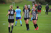 Action from the W-League football match between Waterside Karori and Seatoun AFC at Karori Park in Wellington, New Zealand on Saturday, 29 May 2021. Photo: Dave Lintott / lintottphoto.co.nz