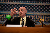 """16.02.2018 - Marco Minniti (Minister of the Interior) at the Mosque of Rome: """"Musulmani ed Europei"""""""