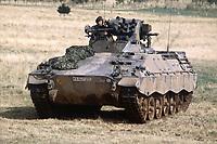 - NATO Exercises in Germany, German Army infantry fighting vehicle Marder (October 1983)<br /> <br /> - Esercitazioni NATO in Germania, veicolo da combattimento per fanteria Marder dell'esercito tedesco (Ottobre 1983)