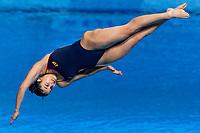 VELAZQUEZ ROLDAN Rocio ESP<br /> 3m Springboard Women Preliminary<br /> Diving<br /> Budapest  - Hungary  15/5/2021<br /> Duna Arena<br /> XXXV LEN European Aquatic Championships<br /> Photo Giorgio Perottino / Deepbluemedia / Insidefoto