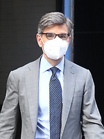 George Stephanopoulos Seen Exiting Good Morning America