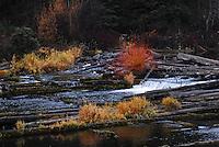 Stillwater Creek as it exits Lower Stillwater Lake