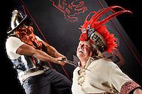 Death of Atahualpa press photos