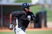 Chicago White Sox Franklin Reyes (40) during an Instructional League game against the Cincinnati Reds on October 11, 2016 at the Cincinnati Reds Player Development Complex in Goodyear, Arizona.  (Mike Janes/Four Seam Images)