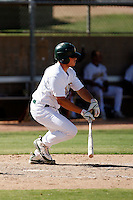 Max Stassi - Oakland Athletics 2009 Instructional League. .Photo by:  Bill Mitchell/Four Seam Images..