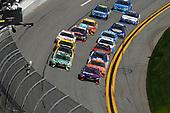 2017 NASCAR Cup - Clash at Daytona<br /> Daytona International Speedway, Daytona, FL USA<br /> Sunday 19 February 2017<br /> Matt Kenseth, DeWalt Toyota Camry, Denny Hamlin, FedEx Express Toyota Camry, Jamie McMurray, Daniel Suarez, ARRIS Toyota Camry <br /> World Copyright: Michael L. Levitt/LAT Images<br /> ref: Digital Image levitt-0217-D500_07139