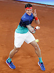Milos Raonic, Canada, during Madrid Open Tennis 2016 match.May, 6, 2016.(ALTERPHOTOS/Acero)