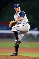 July 30, 2009:  Pitcher Owen Brolsma of the State College Spikes during a game at Russell Diethrick Park in Jamestown, NY.  State College is the NY-Penn League Short-Season Class-A affiliate of the Pittsburgh Pirates.  Photo By Mike Janes/Four Seam Images