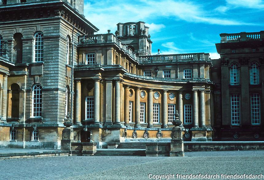 Sir John Vanbrugh: Blenheim Palace, Northern Range. Photo '05.