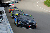 #20: Erik Jones, Joe Gibbs Racing, Toyota Camry Doosan and #48: Jimmie Johnson, Hendrick Motorsports, Chevrolet Camaro Lowe's for Pros