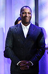 Leslie Odom Jr. attends the 2018 Tony Awards Nominations Announcement at The New York Public Library for the Performing Arts on May 1, 2018 in New York City.
