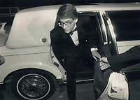 1988 FILE PHOTO - ARCHIVES -<br /> <br /> Director David Cronenberg set out or a limo<br /> <br /> 1988<br /> <br /> PHOTO :  Erin Comb - Toronto Star Archives - AQP