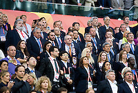 Officials.  Japan won the FIFA Women's World Cup on penalty kicks after tying the United States, 2-2, in extra time at FIFA Women's World Cup Stadium in Frankfurt Germany.