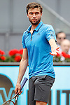 Gilles Simon, France, during Madrid Open Tennis 2016 match.May, 5, 2016.(ALTERPHOTOS/Acero)