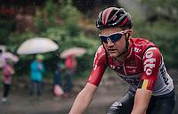 Tim Wellens (BEL/Lotto Soudal)<br /> <br /> Stage 4: Gansingen > Gstaad (189km)<br /> 82nd Tour de Suisse 2018 (2.UWT)