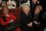 GABRIELLA FAGNO BERTINOTTI , ASSUNTA ALMIRANTE E MADDALENA LETTA<br /> FESTA DEGLI 80 ANNI DI MARTA MARZOTTO<br /> CASA CARRARO ROMA 2011