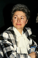 Vera Danyluk, Mayor of Ville Mont Royal  seen in a <br /> file photo. circa 1993 (bet 1991 and 1995)  she passed away in october 2010<br /> <br />    <br /> photo : (c) images Distribution