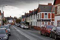 2019 10 17 Pen-y-Wain Road in Cardiff, Wales, UK