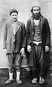 Turquie 1940 In Kurdistan hommes de Piran, a droite, Mullah Vergo ( Mohamed Ali Soran ) Turkey 1940 In Kurdistan, men of Piran, right, Mullah Vergo ( Mohamed ali Soran )